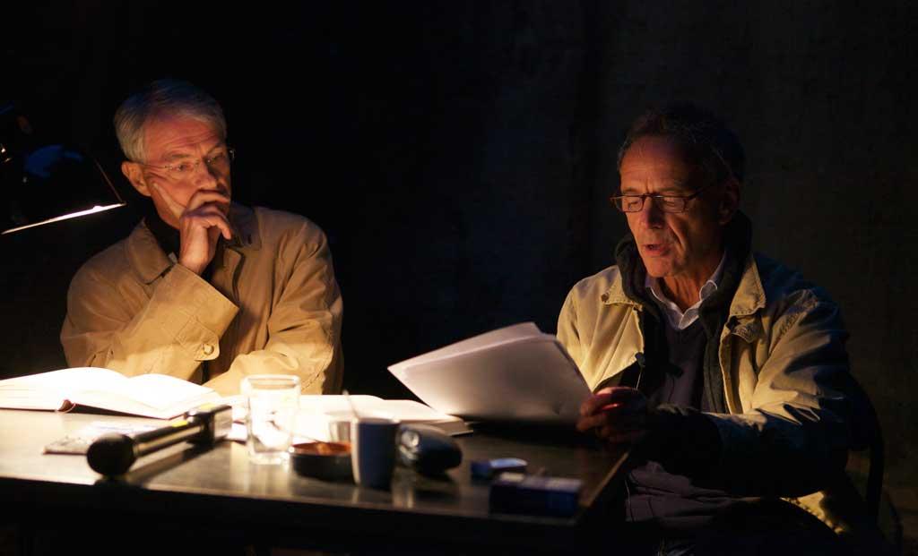 Laszlo Kornitzer und László Földényi (Foto: Carsten Humme)